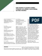 Lipid Management- Current thinking