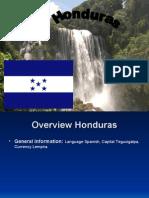 Overview Honduras