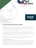 2011 09 SocialMediaPolicy Romania