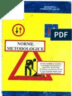Annex - Norme Metodologice managementul traficului