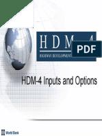 03HDM-4InputsandOptions2008-10-22