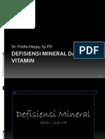 Defisiensi Mineral (level kompetensi 4A)