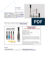 Clearomizer Aspire Bdc Ce5
