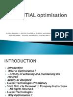 INITIAL Optimisation