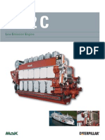 MaK M 32 C Low Emission Engine