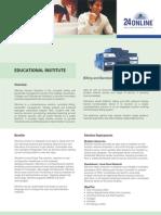 24 Online Education Brochure