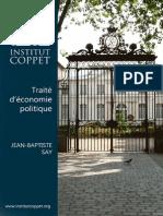 Jean Baptiste Say - Traite d'économie politique