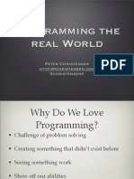Programming the Real World