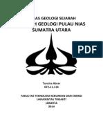GEOLOGI SEJARAH - Tunzira