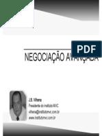NEGOCIAÇÃO AVANÇADA INFLUÊNCIA RELACIONAMENTO - JBV