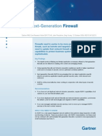 Defining Next Generation Firewall