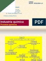 Industria química, Procesos quimicos