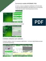 Imprimanta Termica Mobile INTERMEC PR3