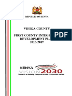 Vihiga County Intergrated Development Plan
