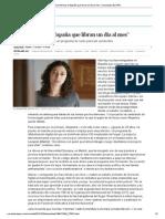 """""""Hay internas en España que libran un día al mes"""" _ Sociedad _ EL PAÍS"""