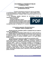 Prezentarea DGFP Gorj-Mai 2012