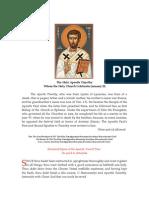 Apostle Timothy