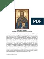19 Saint John of Kronstadt