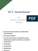 TLE - Business Management
