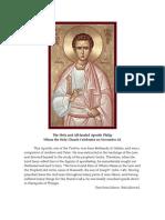 14 Apostle Philip