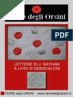 Lettere di riccatto scritte da J. Nathan a Livio III Odescalchi