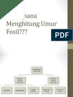 Menghitung Umur Fosil