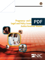 Pregnancy- And Child-Related Legal and Policy Issues Concerning Justice-Involved Women