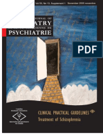 CLINICAL PRACTICAL Guidelines Treatment of Schizophrenia - Canadian Psychiatry Association