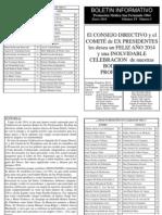 Boletin Informativo 2014-1