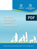 Foreign Workers Rights 2013 Israel