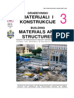 Building Materials and Structures