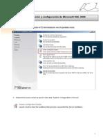 Manual de instalación y configuración de SQL2008
