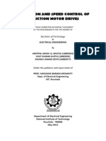 SIMULATION AND SPEED CONTROL OF INDUCTION MOTOR DRIVES