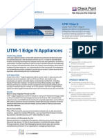 UTM-1 Edge Datasheet
