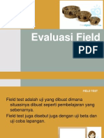 Field TEst Evi