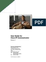 User Guide for Cisco IP Communicator
