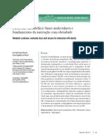 -- Síndrome metabólica - bases moleculares e fundamentos da interação com obesidade