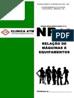 CAPA RELATÓRIO DE MAQUINAS