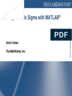 Design of 6 Sigma in Matlab