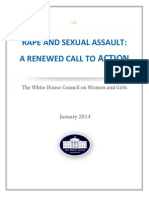 RAPE AND SEXUAL ASSAULT: 
