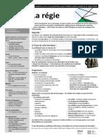 Formation PRIMI régie