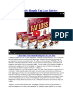 Extremely Simple Fat Loss PDF Online