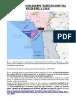 Corte de La Haya definió frontera marítima entre Perú y Chile_2014