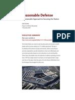 Reasonable Defense
