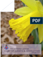The Victoria League 2014 Diary of Events