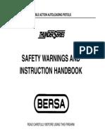 Bersa Model Thunder 380, 22. Manual. Eng.pdf