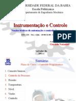 2.6- Revisão- Controle de Processo - Instrumentos