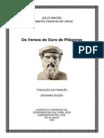 Os Versos de Ouro de Pitágoras