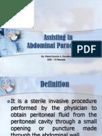 Abdominal Paracentesis, AP, Abdominal Tap