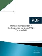 Manual de Instalación y Configuración de VisualSVN y TortoiseSVN